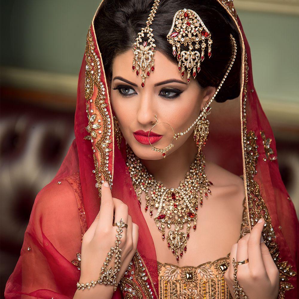Modern Indian Wedding Jewellery: Pin Od Beata Q@ Na Piękne Sari I Biżuteria