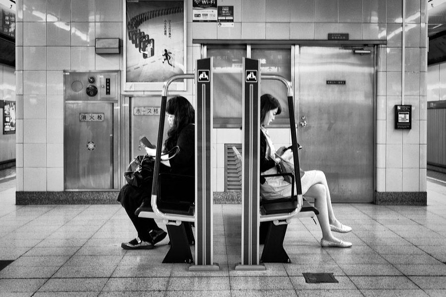 Subway platform. by kawarachan - Photo 155096503 - 500px