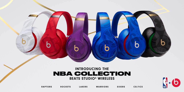 Beats Studio3 Wireless Noise Canceling Over Ear Headphones Nba Collection Raptors White Premium Sound With Fi Beats By Dre Headphones Beats Studio Wireless