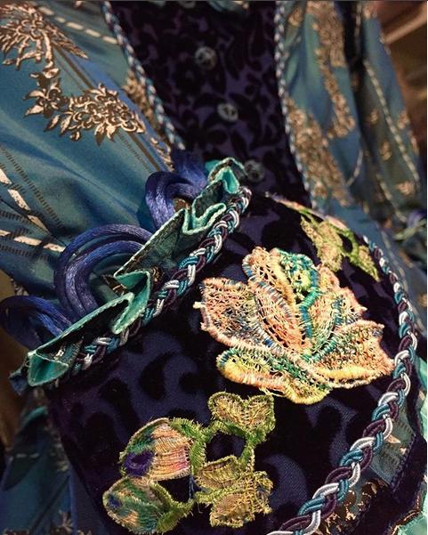 "Christine Daae Dressing Gown: ""A Sneak Peak At Christine Daae's New Dress!"" (from Maree"