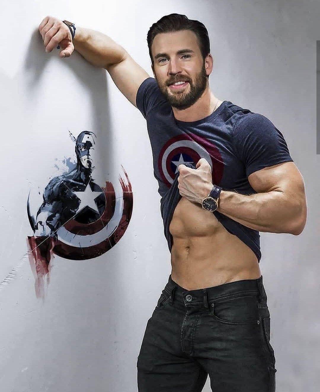 Chris Evans Abs Workout Chris Evans Chris Evans Shirtless Chris Evans Captain America