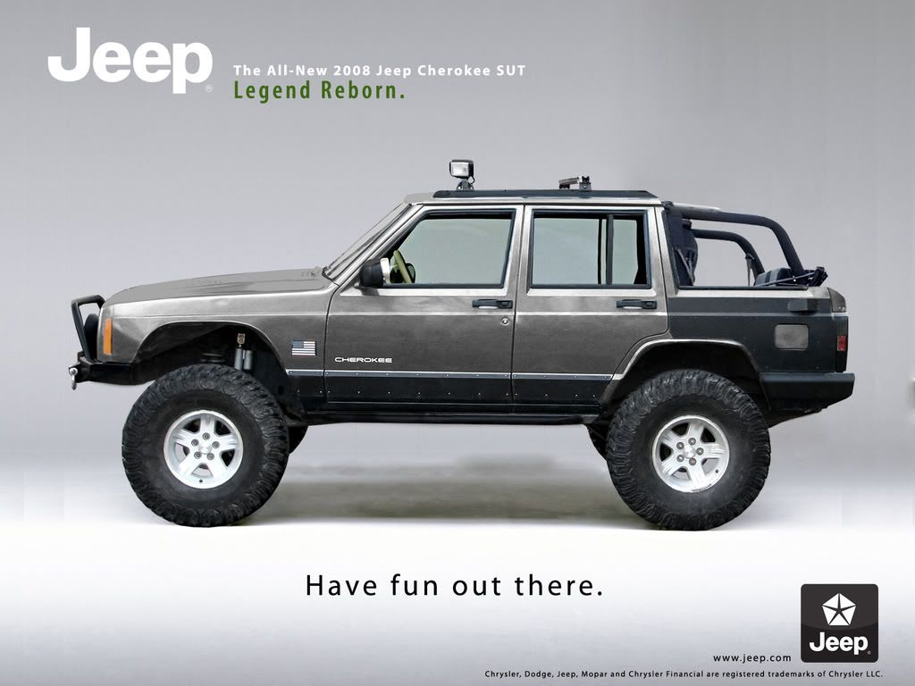 I Would Only Do This To A Cherokee That Needed A Lot Rear Panel Repair I Could Never Chop Up A Perfectly Good Cherokee Jeep Xj Jeep Cherokee Jeep Cherokee Xj