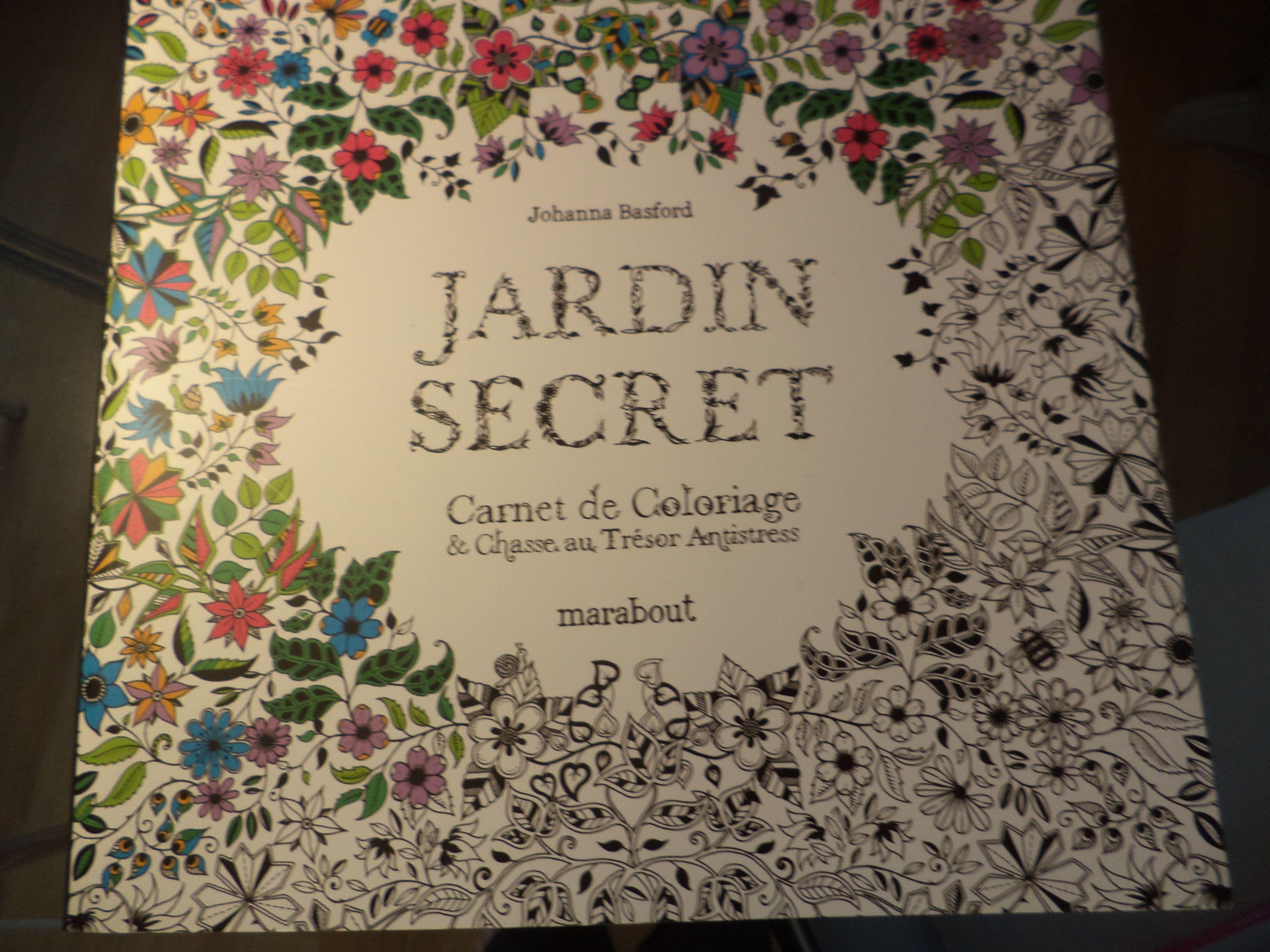 jardin secret | Coloriage anti stress, Johanna basford jardin secret, Coloriage