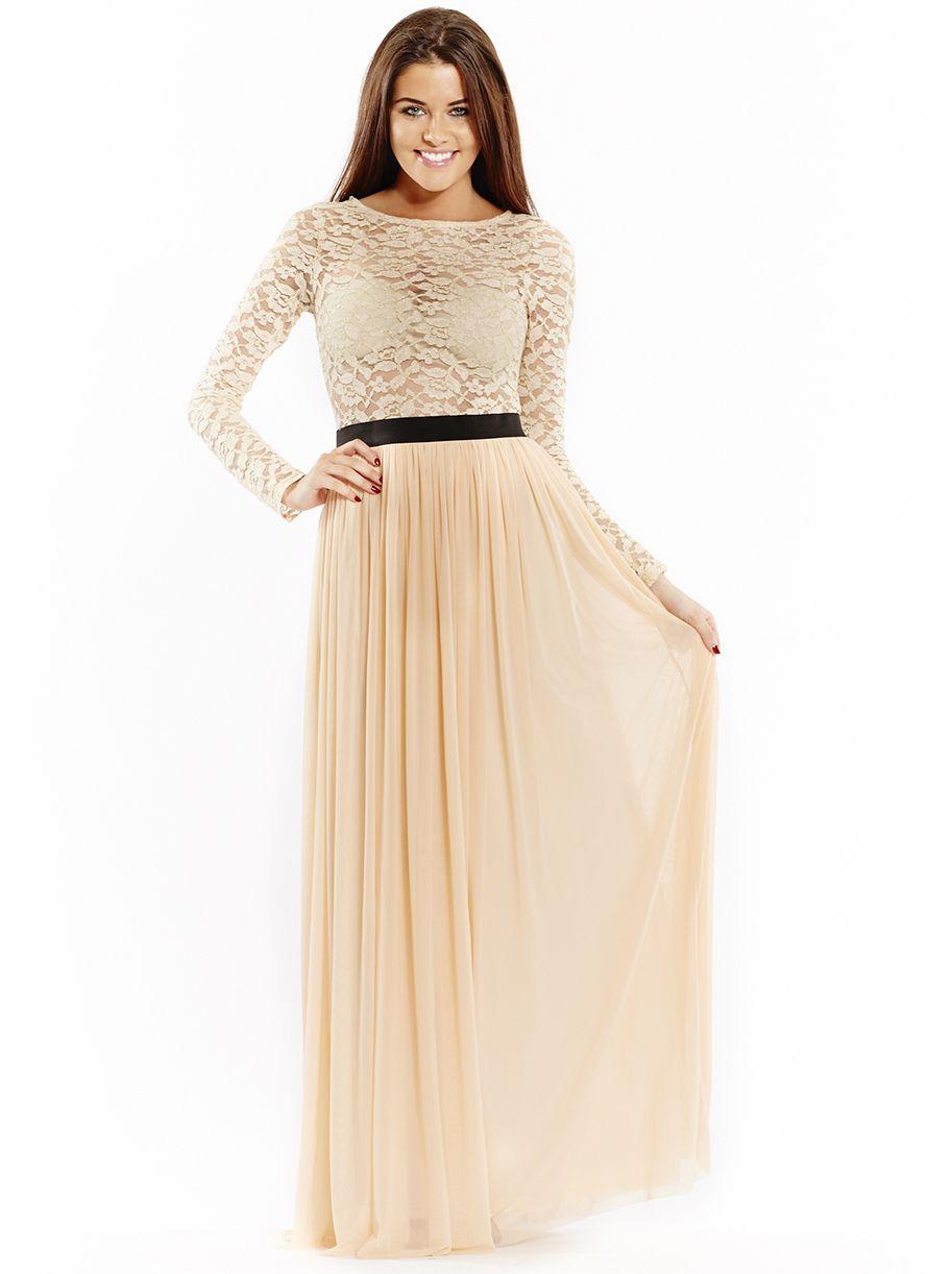 Maxi dress long sleeve formal longsleeve dress pinterest