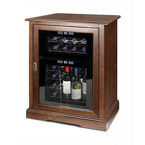 Siena Single Wine Credenza With 24 Bottle Dual Zone