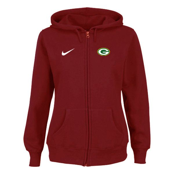 Nike Green Bay Packers NFL Tailgater Women's Full-Zip Hoodie