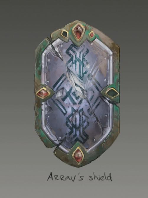 Runescape Concept Art Arravs Shield Concept Art Weapons