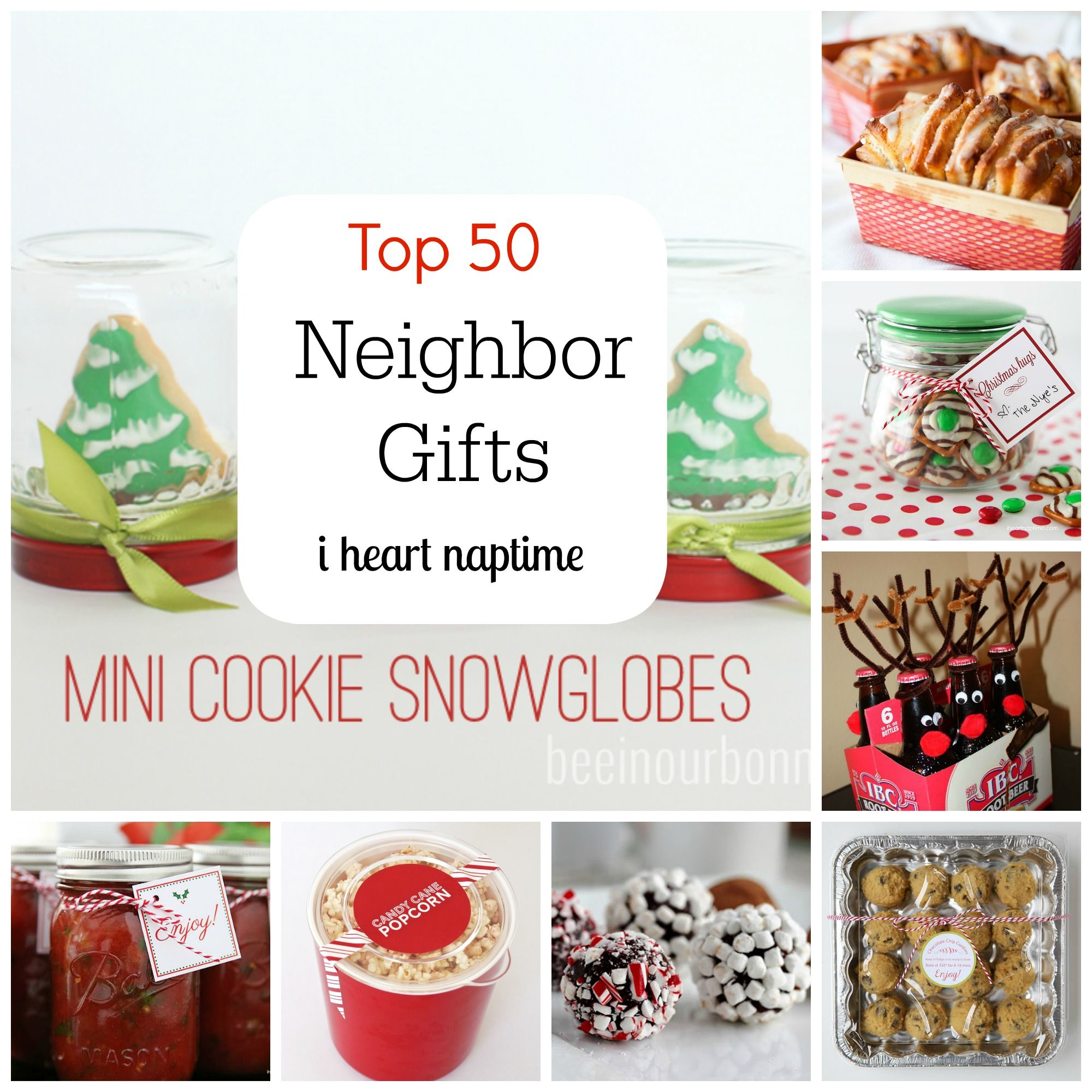 Top 50 Neighbor Gift Ideas | Neighbor gifts, Christmas ...