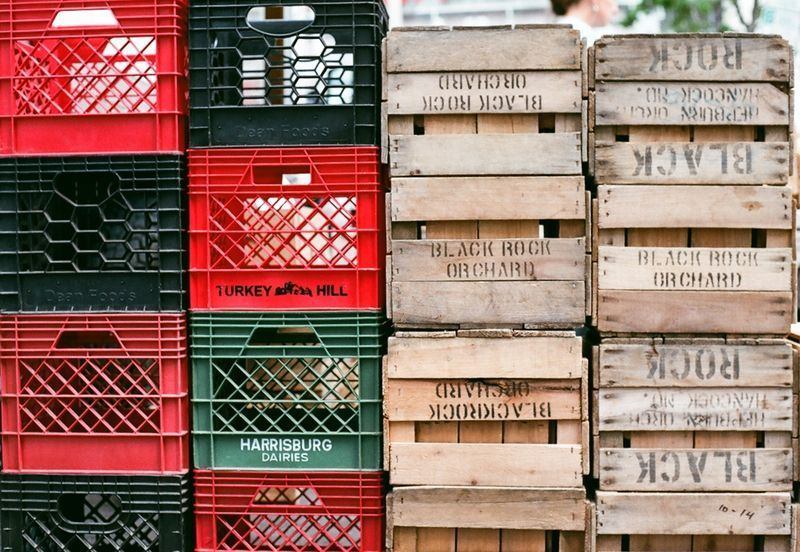 Crates Put it in the crate Pinterest Crates, Architecture