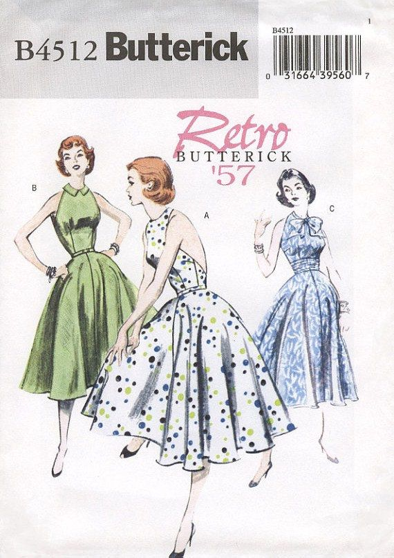 1950s Inspired Plus Size Halter Dress | Through the ages | Pinterest ...
