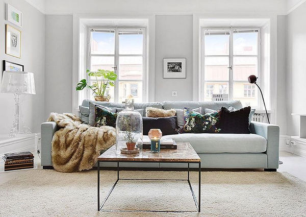 Valen XL turkos, dun, soffa, djup, rymlig, vardagsrum, linne, blå ... : vardagsrum new england : Vardagsrum