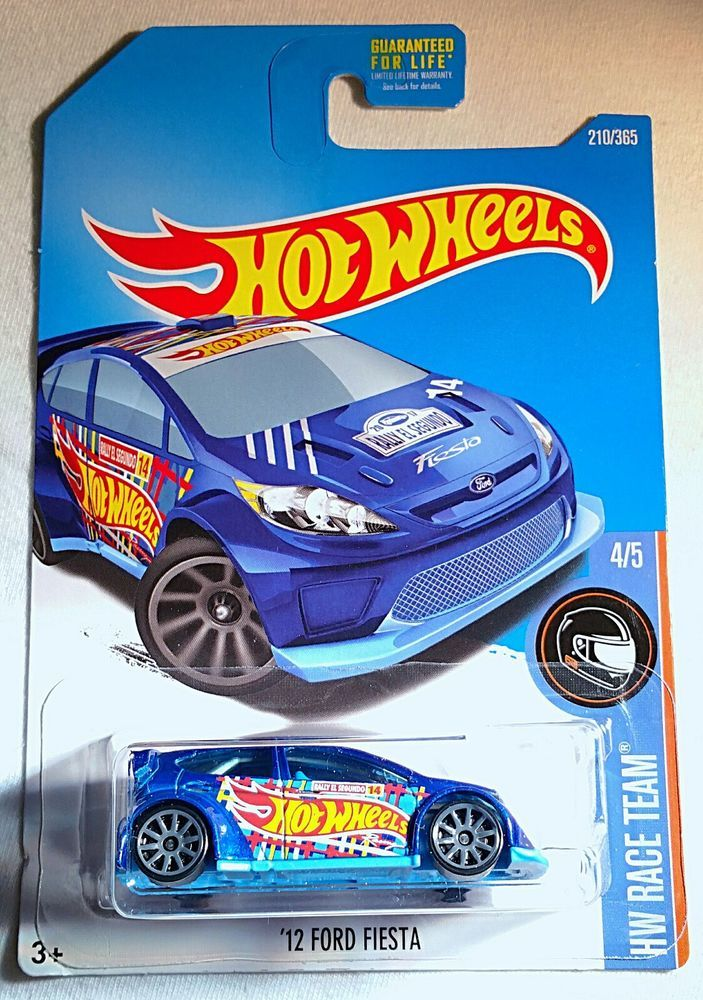 12 Ford Fiesta HW Race Team #210. This sale is for 2 cars in this ...