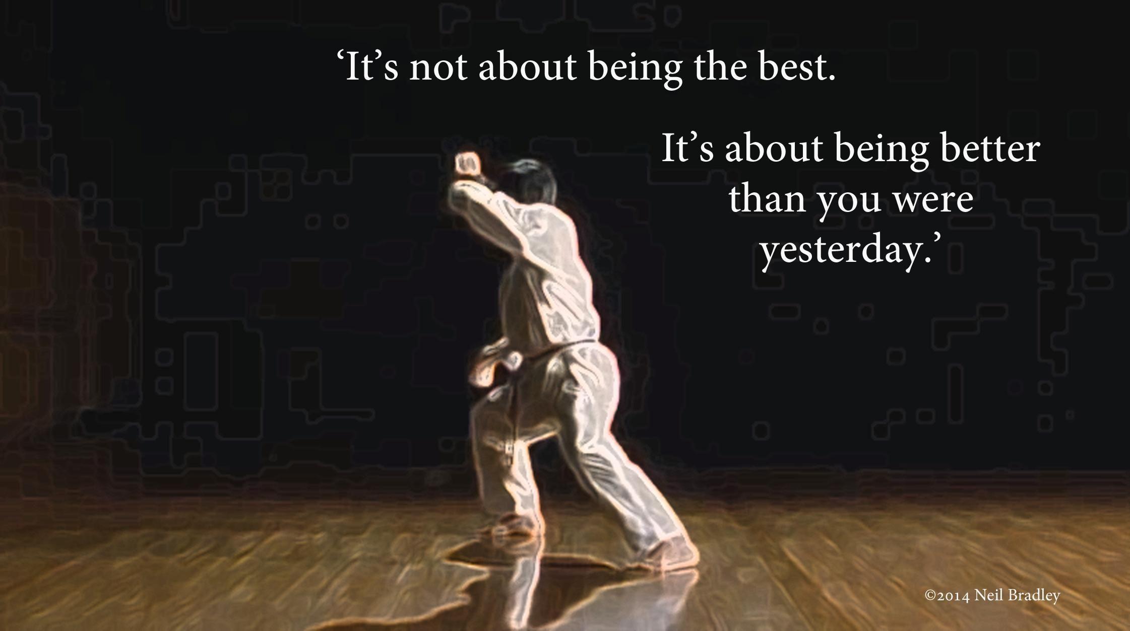 karatemotto.jpg (2242×1253) Karate quotes, Martial arts