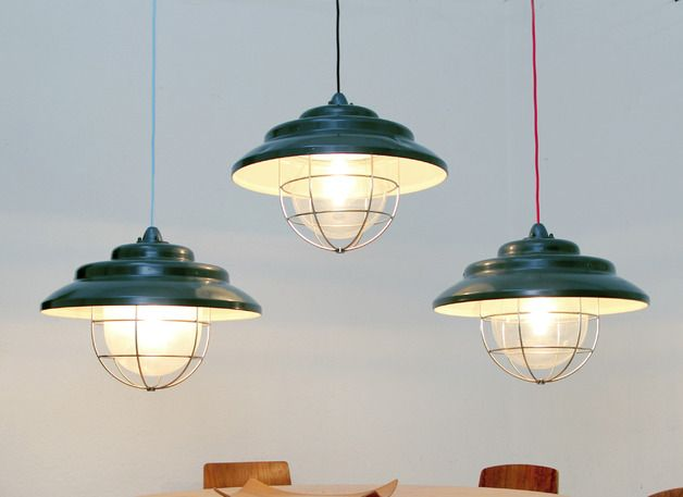 Vintage Deckenlampen  Tolle Hngelampe IndustrieDesign