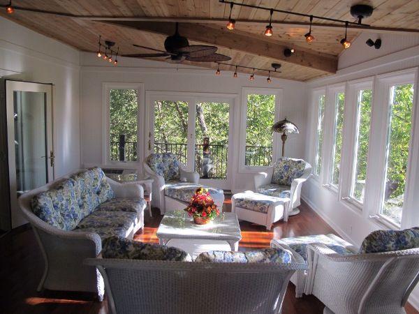 Sunroom Ideas On A Deck Four Season Rooms Archadeck Of Kansas