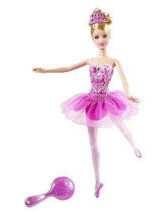 e588c77cc6bc Amazon.com  Barbie Pink Ballerina Doll  Toys   Games