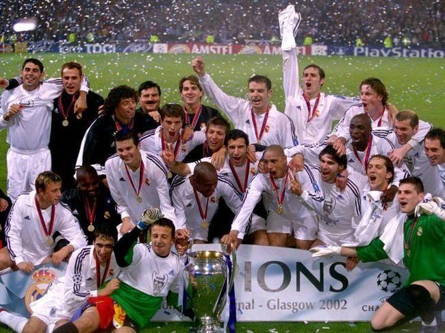 Uefa Champions League 2002 Real Madrid Real Madrid Champions League Uefa Champions League