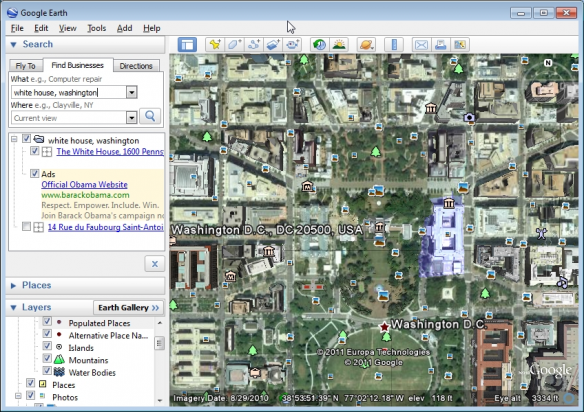 Google Earth Live See Satellite View Of Your House Fly Directly