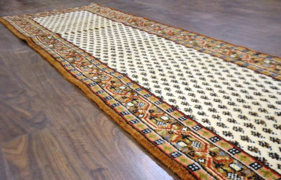 9 7x2 8 Hand Knotted 120 Knots Per Sqft Turkish Mahi By Rugsloom Hand Knotted Beautiful Rug Bohemian Rug