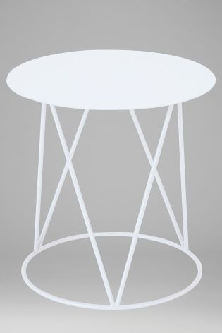 Buy white metal side table from the next uk online shop home decor buy white metal side table from the next uk online shop watchthetrailerfo