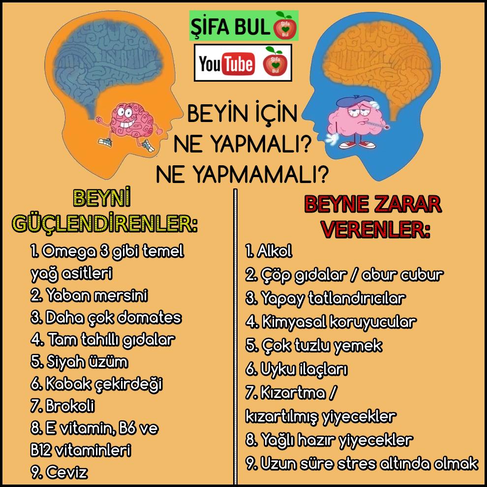 Beyin Icin Ne Yapmali Ne Yapmamali Sifabul Beyni Guclendirenler 1 Omega 3 Gibi Temel Yag Asitleri 2 Yaban Mersini 3 Yaban Mersini Saglik Saglik Ipuclari