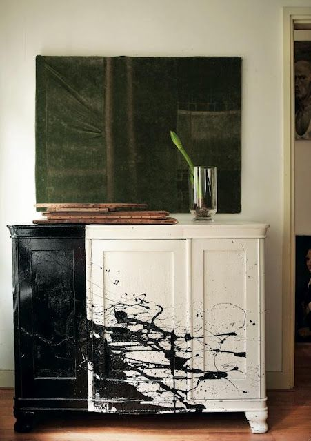 play pollock with your furniture
