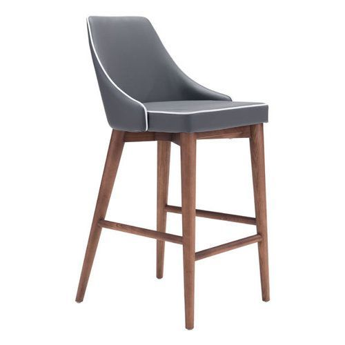 MOOR COUNTER CHAIR DARK GRAY (100280)