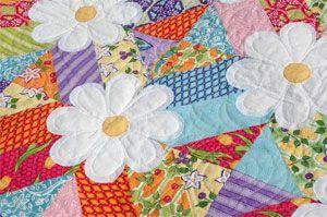 Blossoms Quilt Pattern by Amanda Murphy at KayeWood.com