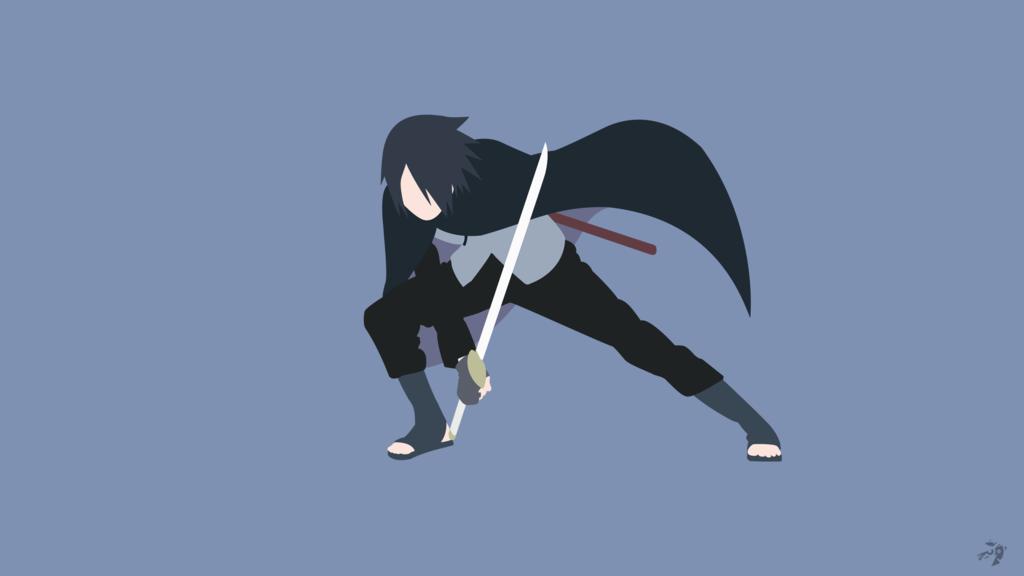 Sasuke Uchiha   Boruto the Movie Minimalist Anime by Lucifer012 on DeviantArt