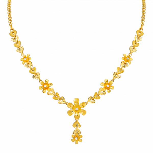 21 Gorgeous Gold Necklace Designs In 15 Grams South India Jewels Gold Necklace Designs Gold Fashion Necklace Gold Earrings Designs