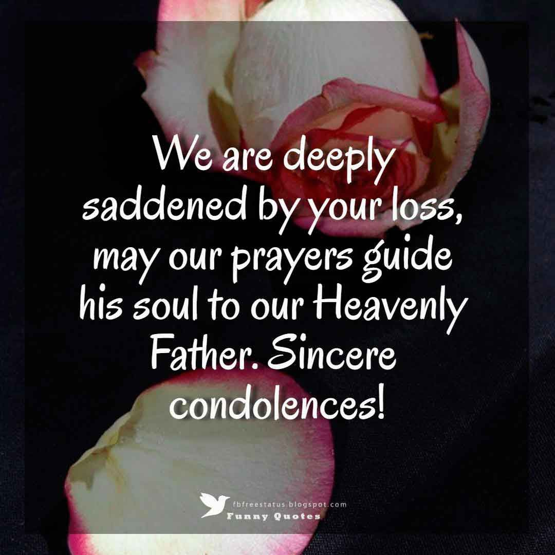 Condolences Messages For Your Sympathy Card Condolences