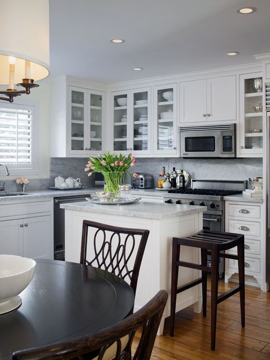 Small Kitchen Layouts Design, Pictures, Remodel, Decor and Ideas ...
