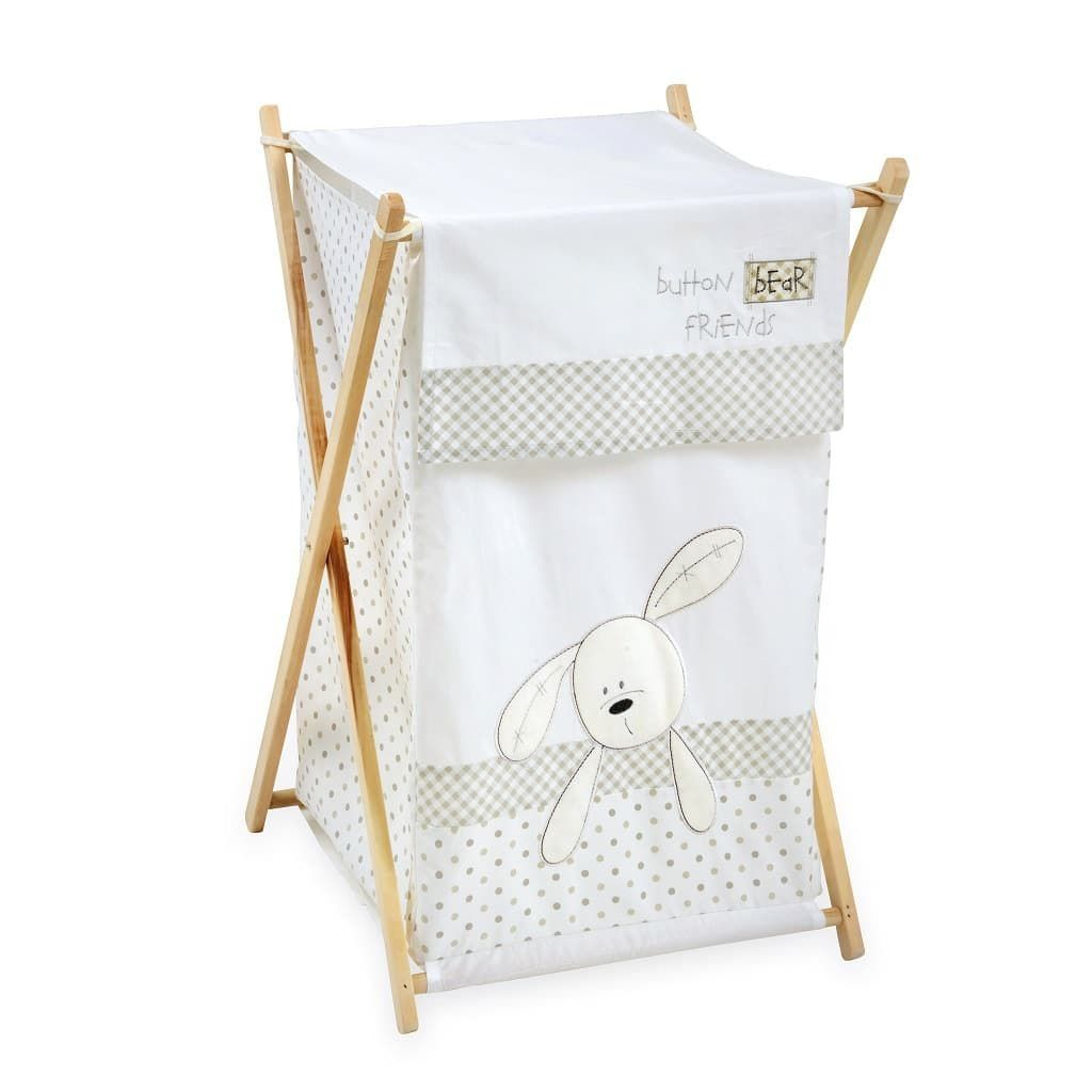 Bunny And Friends Hamper Baby Clothes Organization Kids Storage Bins Baby Laundry Basket