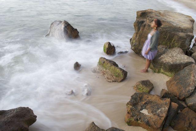 Photography   Jacob Cartwright  Half Moon Bay, Vic, Australia. Girl by the sea.