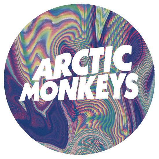 Arctic Monkeys Logo   Stuck on Stickers in 2019   Arctic ...