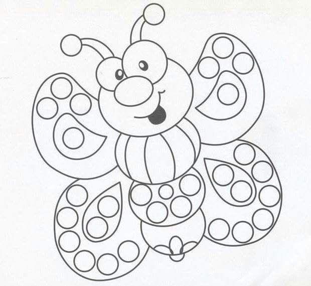 Desenhos Para Pintar Com Cotonetes Desenhos Para Pintar
