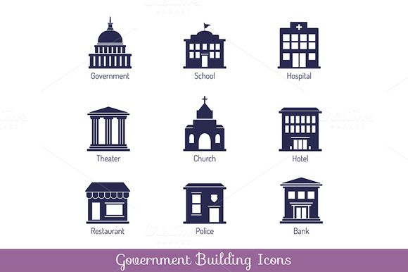 Government Building Icons Building Icon Building Images Building