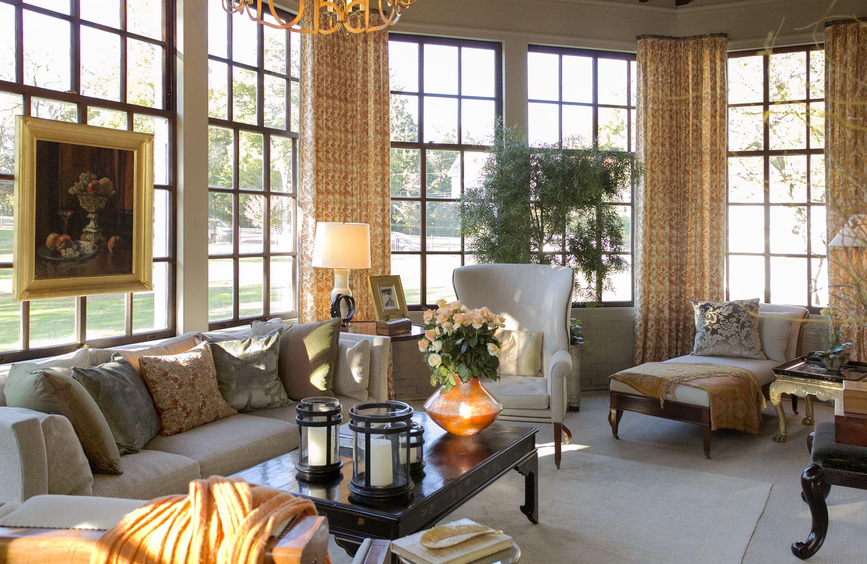 Living Room // Show Houses // Boston Interior Design // Gerald Pomeroy  Interiors
