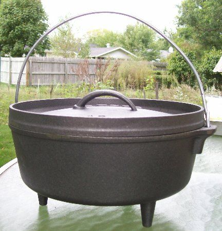 Dutch Oven Camp Cooking - How to use a dutch oven