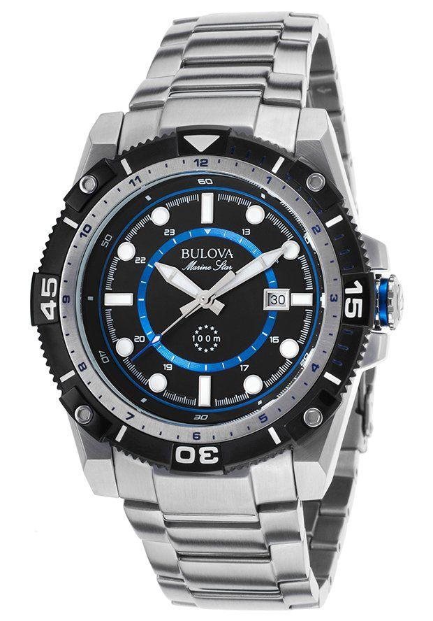 0da8b0110b4  TimeMob  Relógio Masculino Bulova Marine Star WB31729F R 764