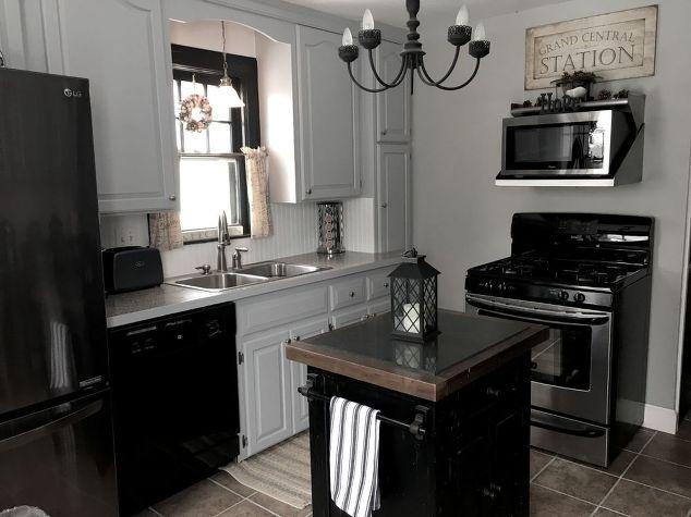 budget kitchen renovation cape cod modern farmhouse