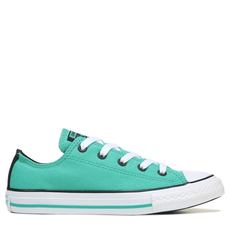 127f2b747e1 Converse Kids  Chuck Taylor All Star Low Top Sneakers (Pure Teal) Converse  Chuck
