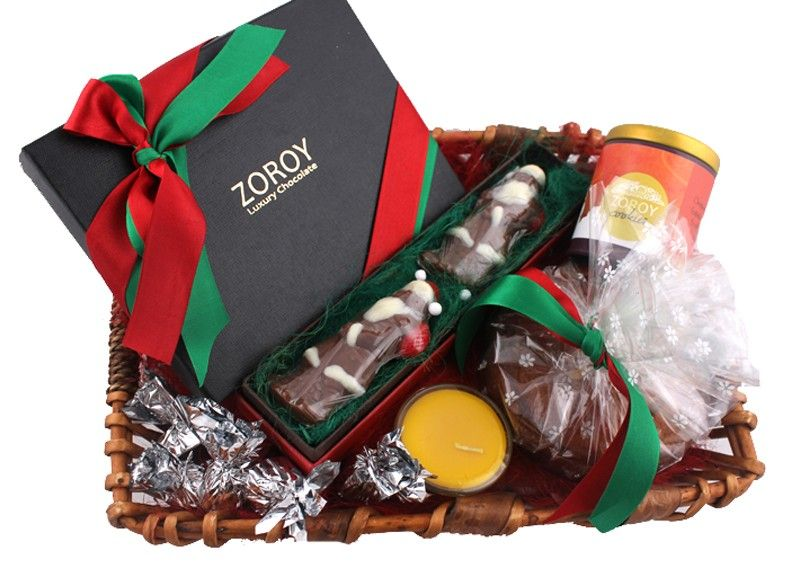 Zoroy Provides Christmas Chocolates Online at affordable prices in India. Enjoy Christmas & New Year with Zoroy sweets. When you opt to buy online Christmas chocolate gifts, you can also pre-order the designed box and packs.