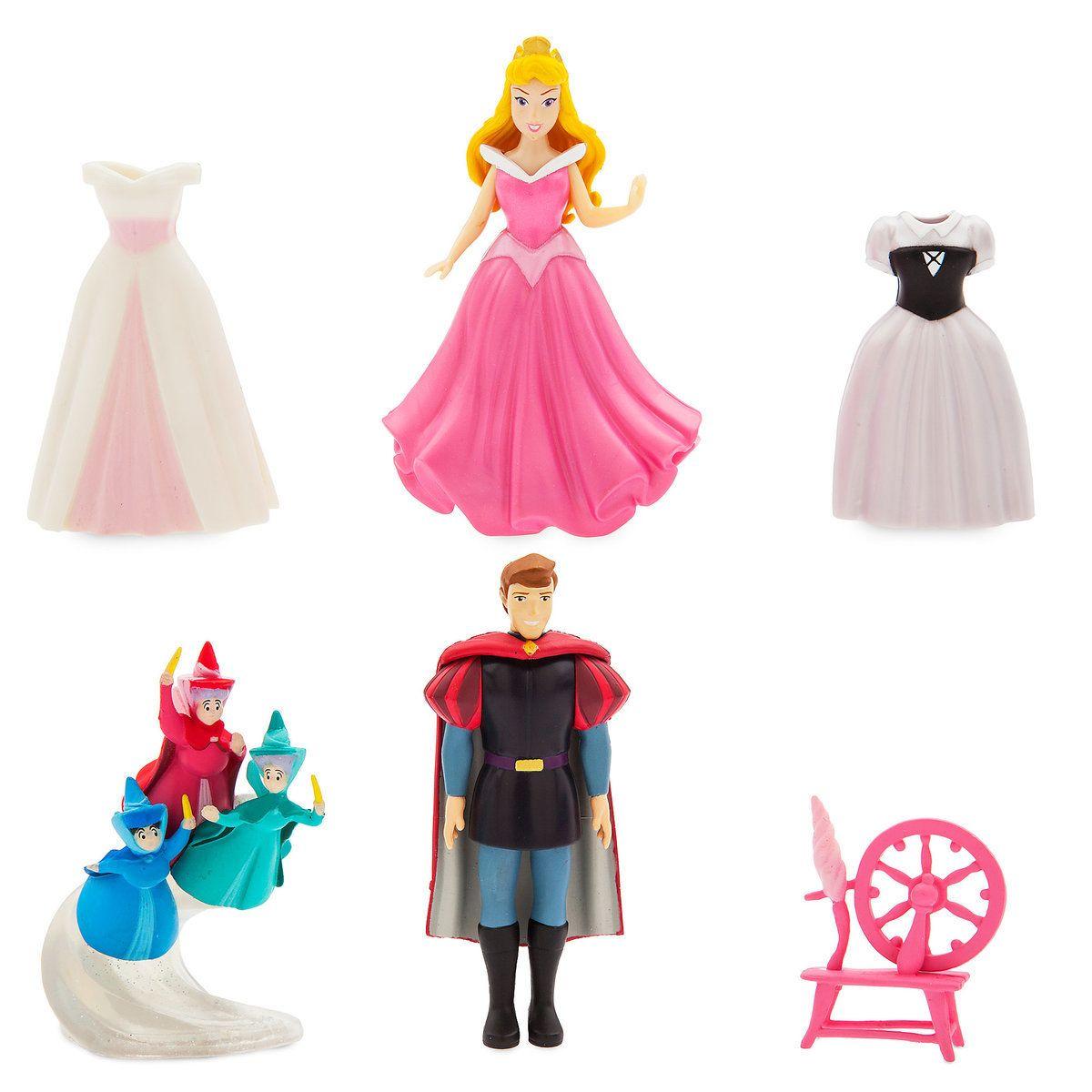 Thumbnail Image of Aurora Dress Up Figure Set  10   Disney ...