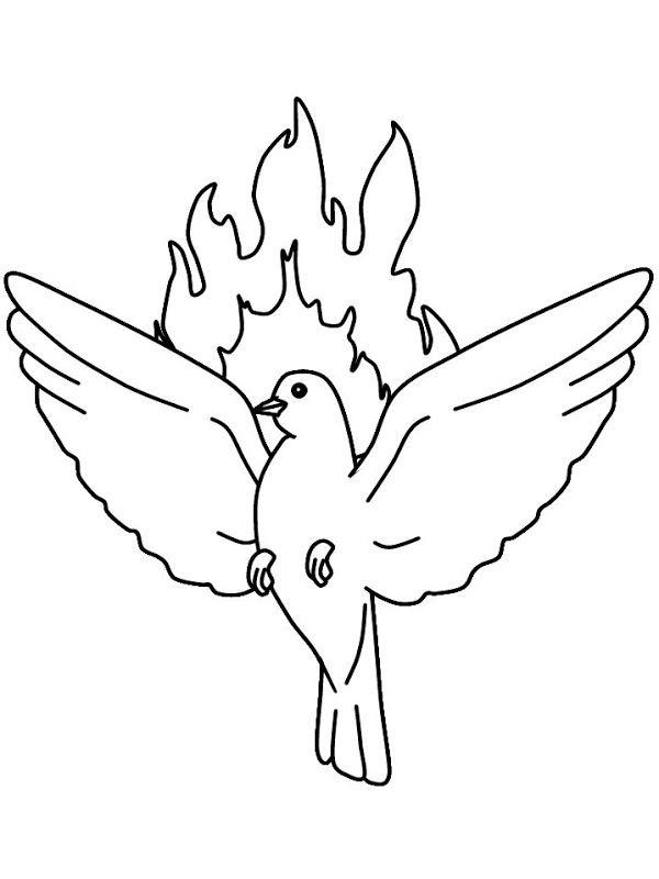 Dibujos Católicos | Pentecostés | Pinterest | Espíritu santo, Santos ...