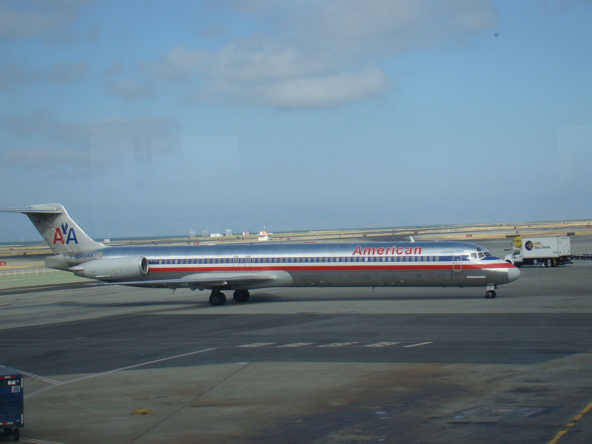 American Airlines MD80 SFO Eagle airlines, Passenger