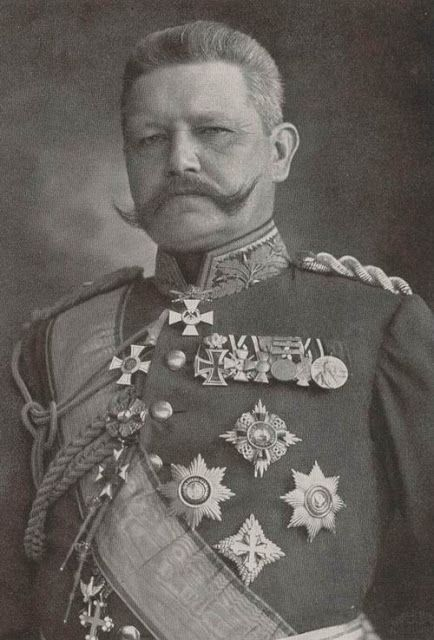 general paul von hindenburg essay Adolf hitler did not seize power in 1933 rather, he was appointed by president paul von hindenburg to be chancellor of the weimar republic (the government that replaced the monarchy in germany after world war i).