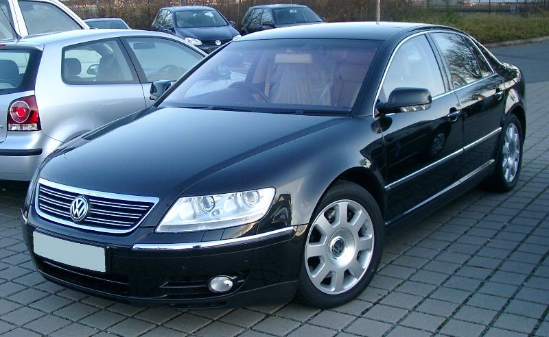 This 2.7 TDi VW Phaeton had gone into limp mode due to a