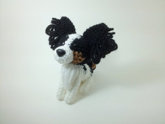 Crochet Amigurumi Dog Papillon by LadyPapillon85 on DeviantArt | 428x570