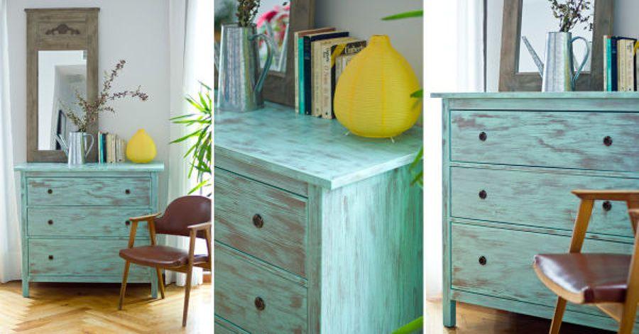 Muebles rusticos en color blanco c mo dar efecto for Muebles rusticos blancos